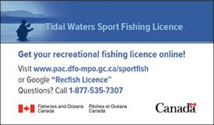 Tidal Waters Sports Fishing License