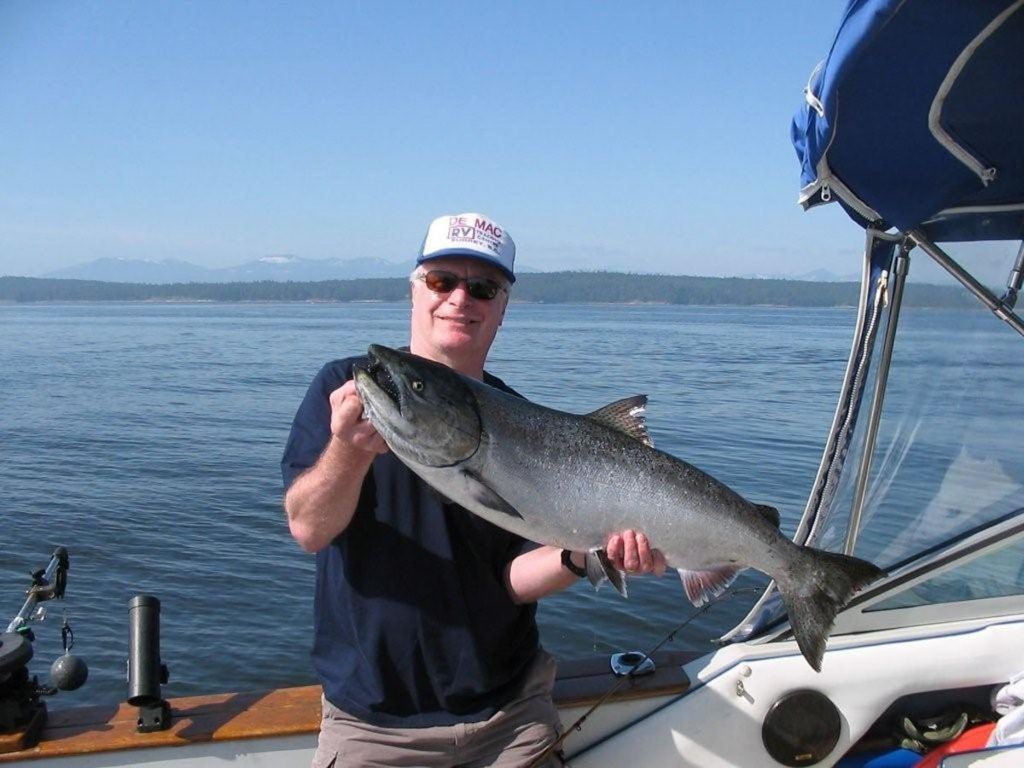 Rodney with a mid 20's Chinook.