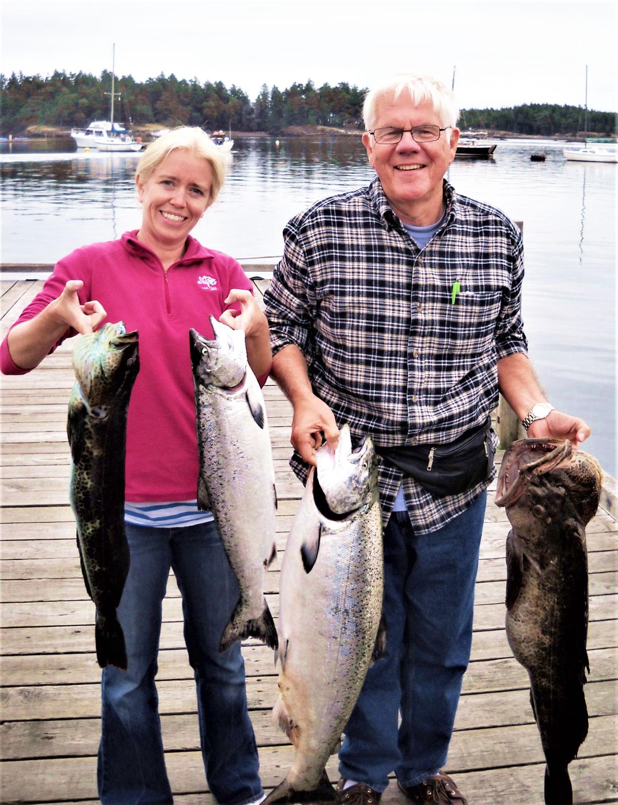 Silver Blue Charters - Salmon Fishing