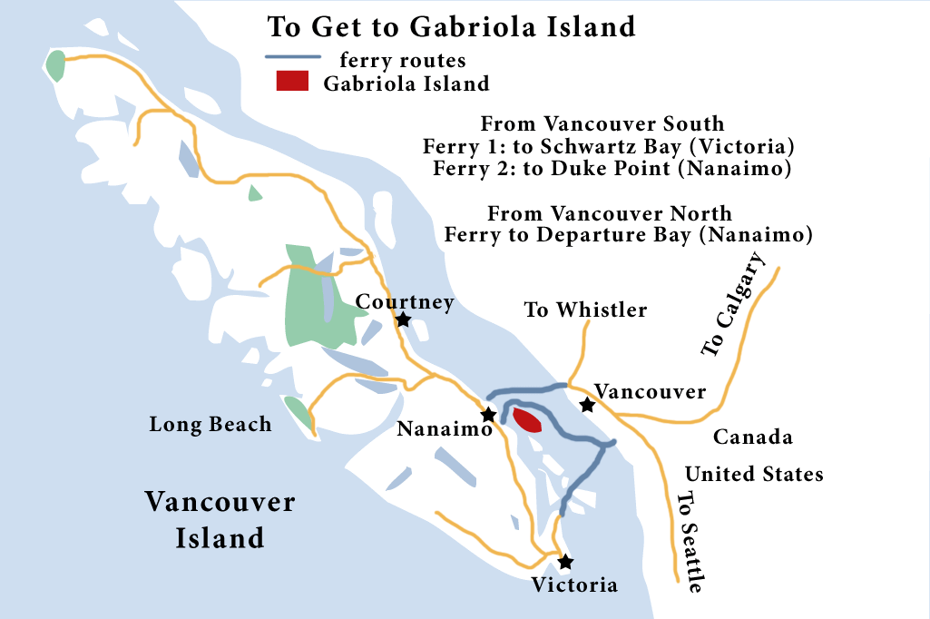 Getting to Vancouver Island